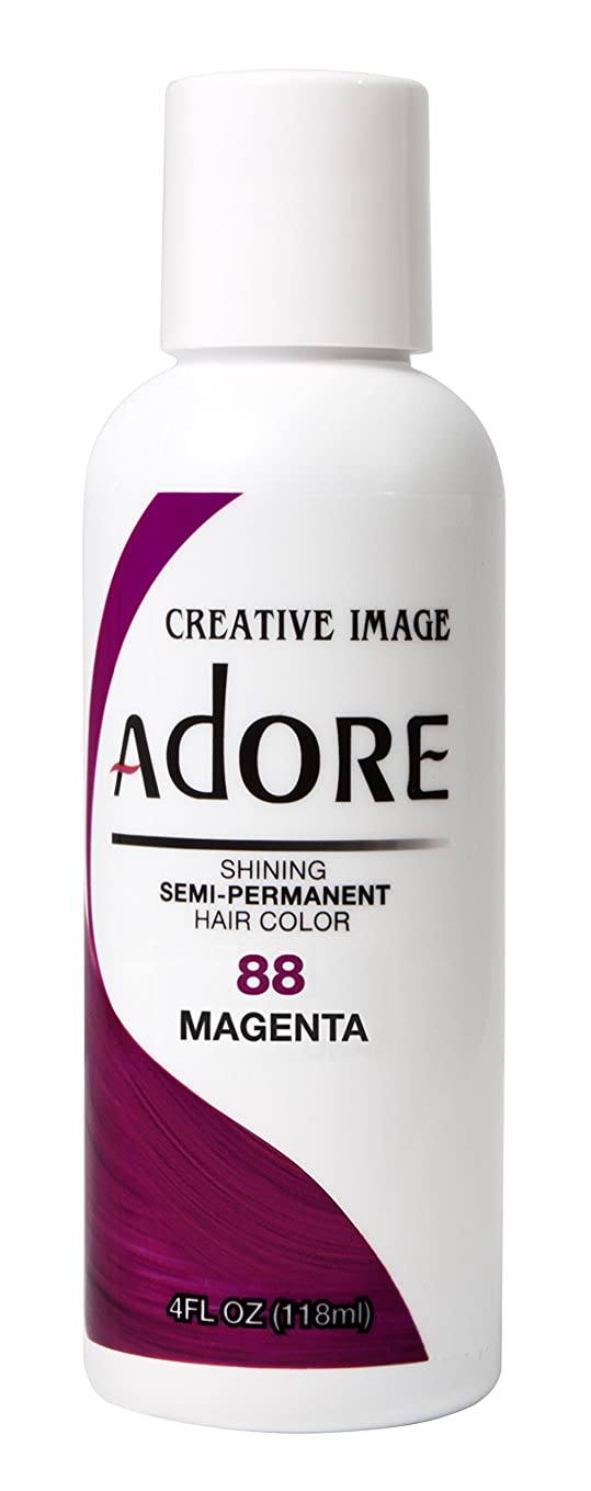 重要性精緻化ネクタイAdore Shining Semi Permanent Hair Colour, 88 Magenta