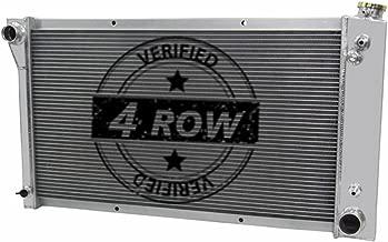 Primecooling 4 Row All Aluminum Radiator for GMC/ Chevy Blazer Jimmy, C/K Series C10 C20 C30 K10 K20 K30 1967-72