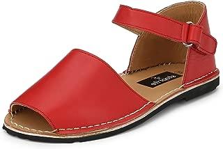 Steprite Kids Flat Leather Sandals for Girls