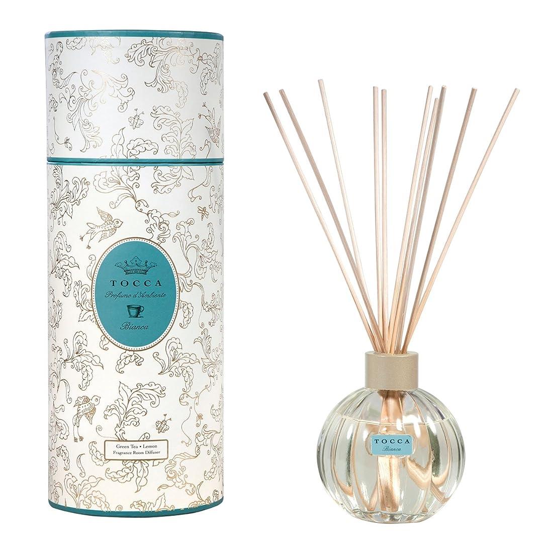 ブランド資産ピストルトッカ(TOCCA) リードディフューザー ビアンカの香り 175ml 3~4ヶ月持続(芳香剤 ルームフレグランス シトラスとグリーンティー、ローズが絶妙に溶け合ったほのかに甘さ漂うフレッシュな香り)