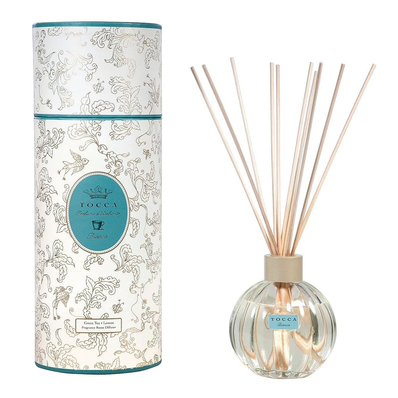反響するパット合法トッカ(TOCCA) リードディフューザー ビアンカの香り 175ml 3~4ヶ月持続(芳香剤 ルームフレグランス シトラスとグリーンティー、ローズが絶妙に溶け合ったほのかに甘さ漂うフレッシュな香り)