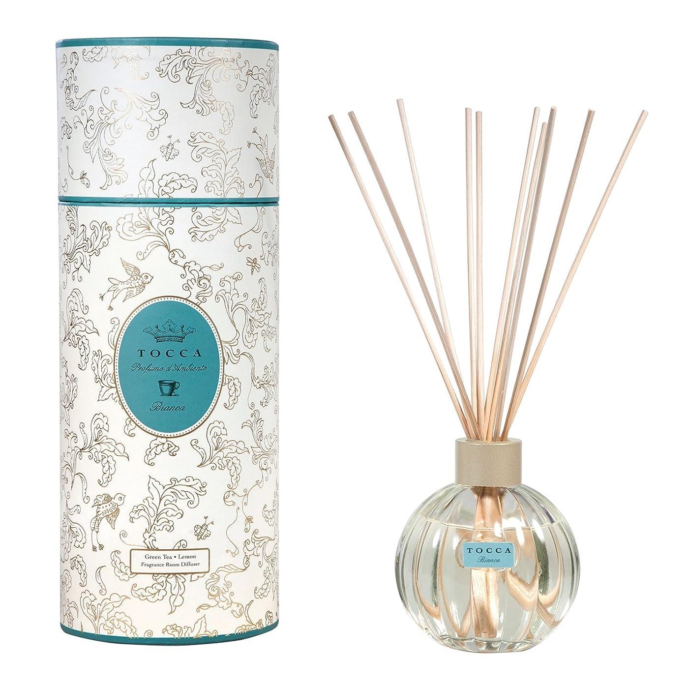 音声学軸カロリートッカ(TOCCA) リードディフューザー ビアンカの香り 175ml 3~4ヶ月持続(芳香剤 ルームフレグランス シトラスとグリーンティー、ローズが絶妙に溶け合ったほのかに甘さ漂うフレッシュな香り)