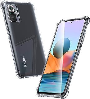 Migeec Funda para Redmi Note 10 Pro/Pro MAX Suave TPU Gel Carcasa Anti-Choques Anti-Arañazos Protección a Bordes y Cámara ...