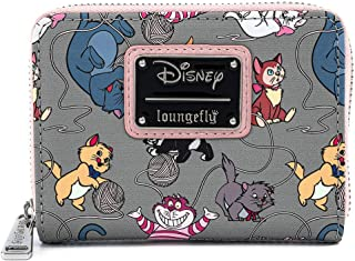 Loungefly Disney Cats Faux Leather Zip Around Wallet