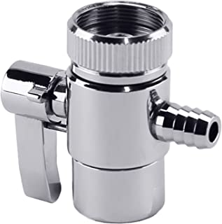 LASCO 09-2135 Aerator With Push Button Diverter And 5/16-Inch Barb Outlet, Chrome Plated