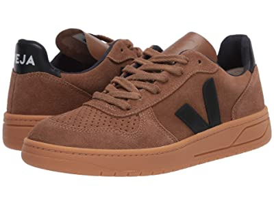VEJA V-10 (Brown/Black Suede/Gum) Men