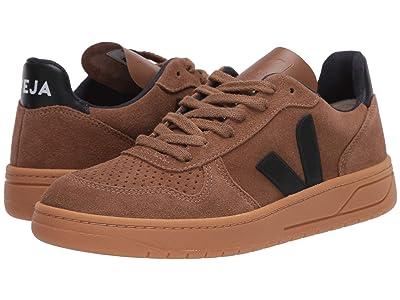 VEJA V-10 (Brown/Black Suede/Gum) Men