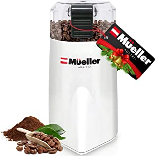 Mueller Austria HyperGrind Precision Electric Spice/Coffee Grinder Mill with Large Grinding Capacity and HD Motor also for...