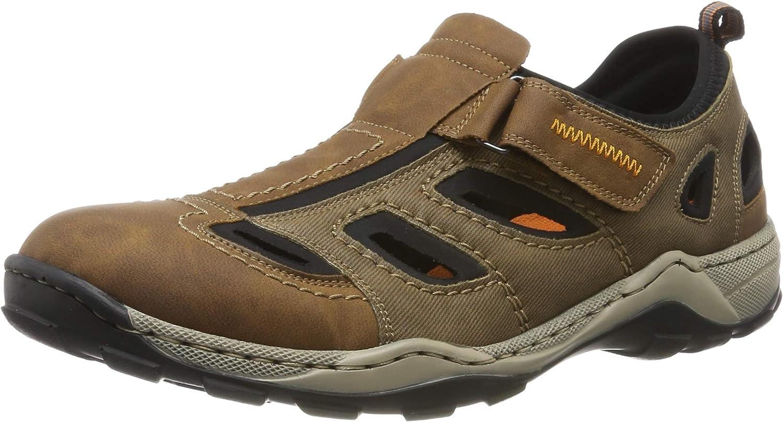 Rieker Men's 08075-24 Low-Top Sneakers