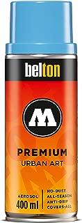 Molotow Belton Premium Artist Spray Paint, 400ml Can, Shock Blue Middle, 1 Each (327.161)