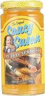 Saucy Susan Apricot Peach Sauce 19oz (Large Jars) - 3 Unit Pack