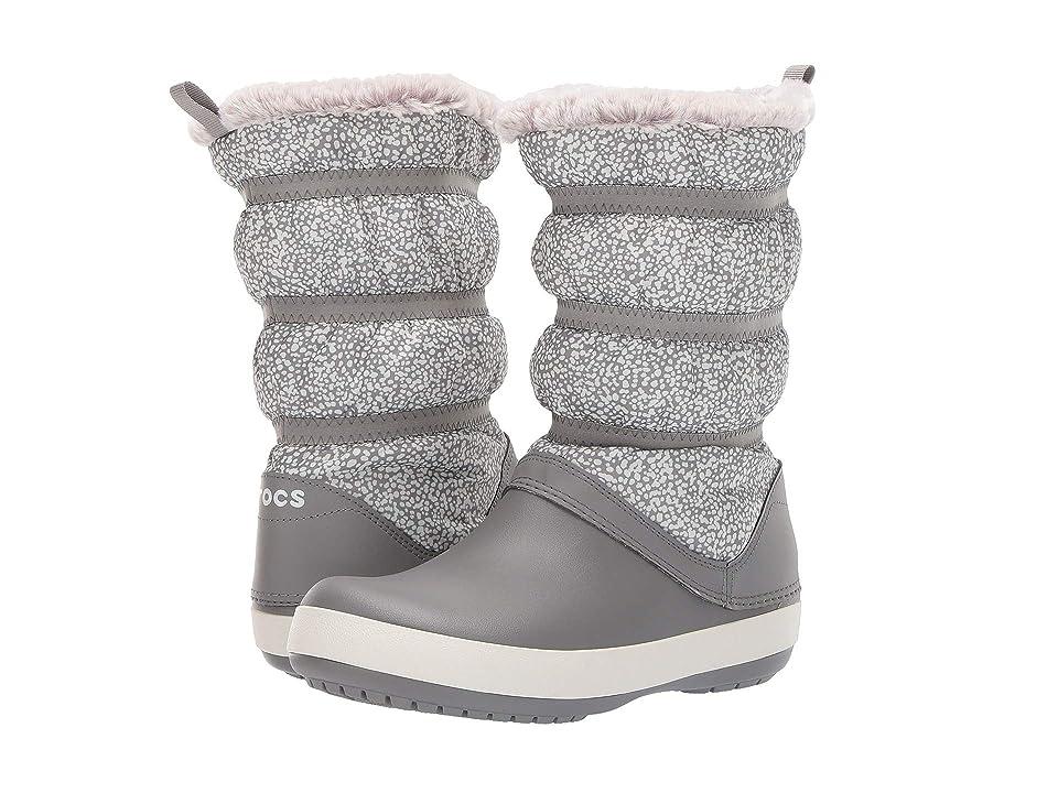 Crocs Crocband Winter Boot (Dots/Smoke) Women