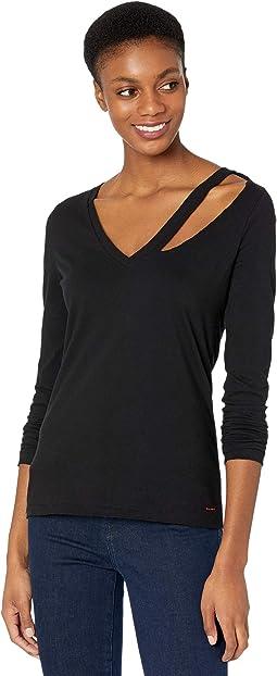 Vicki V-Neck Long Sleeve Shirt