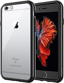 JETech Funda para iPhone 6s y iPhone 6, Carcasa Anti-Choques y Anti-Arañazos, Negro