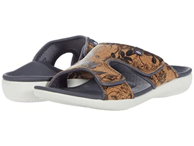 Spenco Kholo Floral Cork (Black) Women