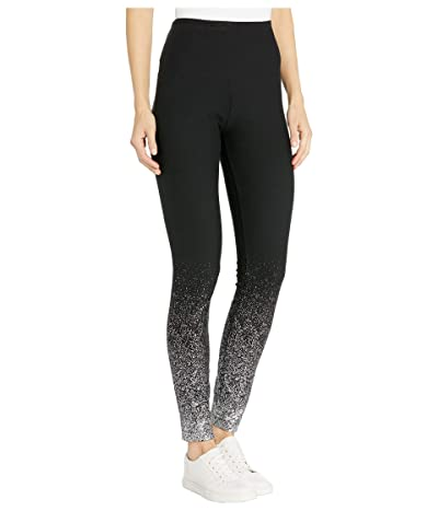 Lysse Shimmer Cotton Foil Leggings (Silver Foil) Women