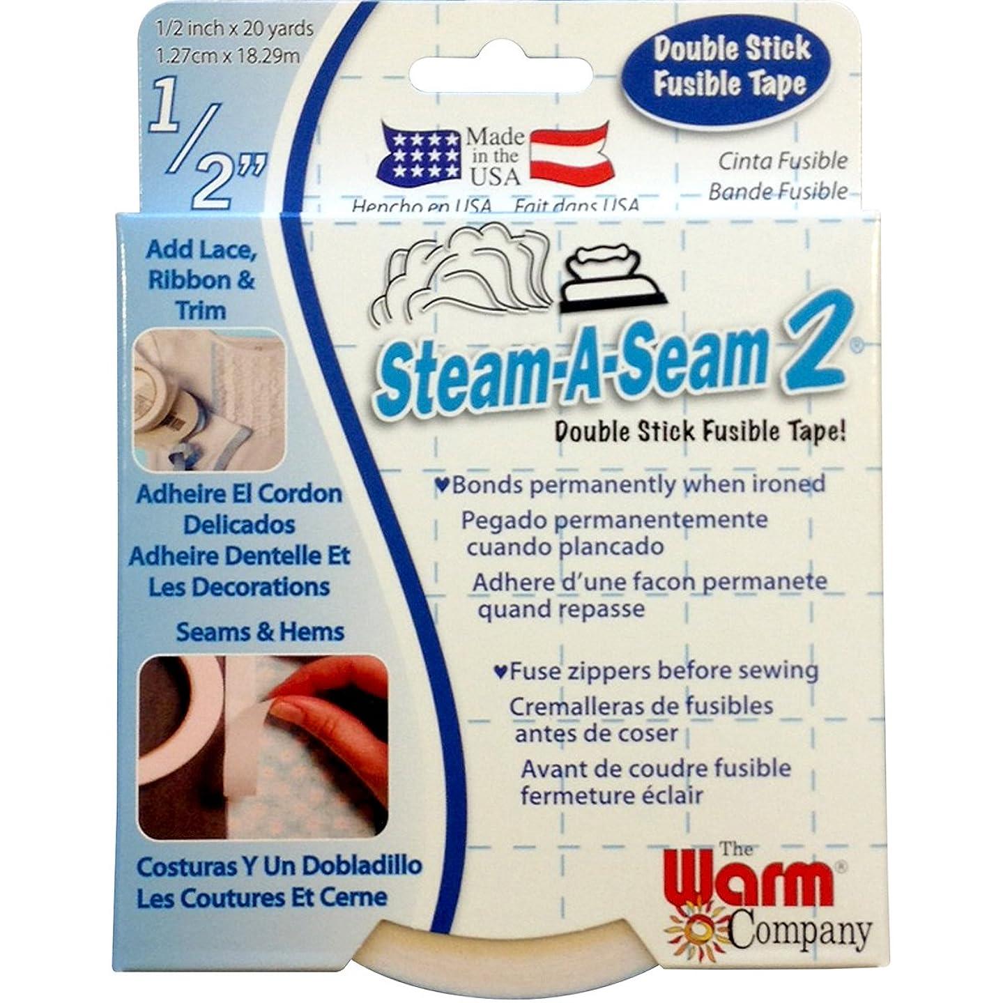 Warm Company Steam-A-Seam 2 Double Stick Fusible Tape 1/2