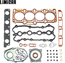 LIMICAR Cylinder Engine Head Gasket Set For 2005-2008 Audi A3 Audi A4 Quattro 2006-2008 Volkswagen GTI Passat 2007-2008 Volkswagen Eos 2.0L TURBO DOHC GS33502 HS26318PT
