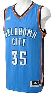 adidas Basketball Oklahoma City Thunder Swingman Trikot Camiseta, Hombre