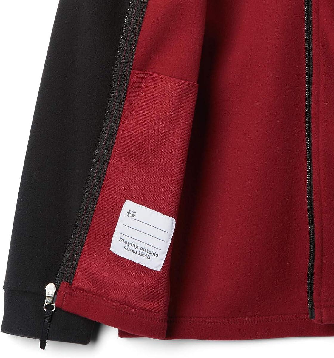 Columbia teen-boys Collegiate Youth Flanker Ii Full Zip Fleece