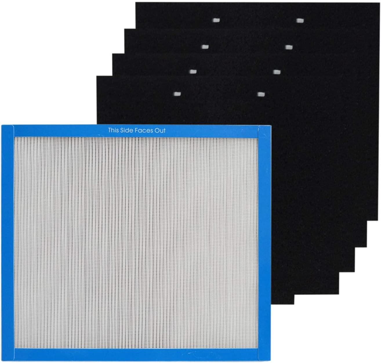 PUREBURG Replacement Filter Kit 1+4 Compatible Arlington Mall with Max 57% OFF Tot HoMedics