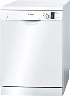 Bosch Free Standing White Dishwasher, SMS50E92GC, 1 Year Warranty