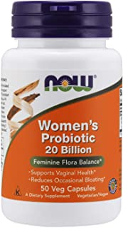 Now Foods Woman's Probiotic 20 Billion, Veggie Caps, 50ct