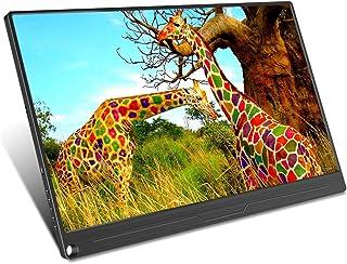 WMWHALE Extensor de tela para laptop/celular, monitor de jogos Full HD IPS 1920 × 1080, alto-falante embutido, ângulo de v...