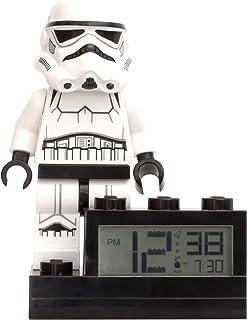 LEGO Minifigura de Soldado de Asalto con Reloj sobre Base con Sonido característico Star Wars, Blanco, 6