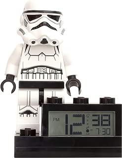 ClicTime Lego Star Wars Stormtrooper Alarm Clock, 6 inches, Stormtropper