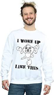 Looney Tunes Men's Taz I Woke Up Like This Sweatshirt