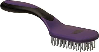 Weaver Leather Mane and Tail Brush Purple/Black, Medium