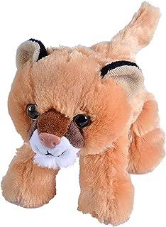 Wild Republic Mountain Lion Plush, Stuffed Animal, Plush Toy, Gifts for Kids, Hug'EMS 7 inches