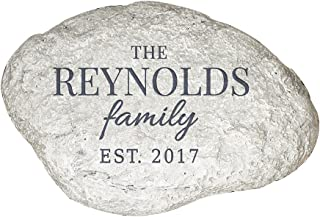 engraved garden stones personalized