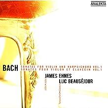 Bach: Sonatas For Violin And Harpsichord, Vol.1