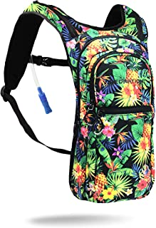 Vibedration VIP 2 Liter Hydration Pack | Festival Rave Hydration, Hiking Camping Backpack