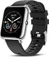 CanMixs Smartwatch, fitnessarmband, horloge, 1,4 inch volledig touchscreen, fitnesstracker, IP67 waterdicht, polshorloge, ...