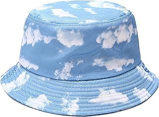 النساء والرجال للجنسين دلو قبعة الصيف طوي الشمس قبعة مزدوجة الوجهين صياد
