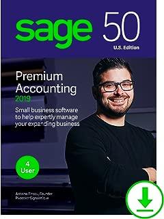 Sage 50 Premium Accounting 2019 U.S. 4-User [Download]