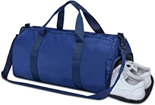 Totech Small Sports Gym Bag with Wet Pocket & Shoes Compartment for Women and Men 25L