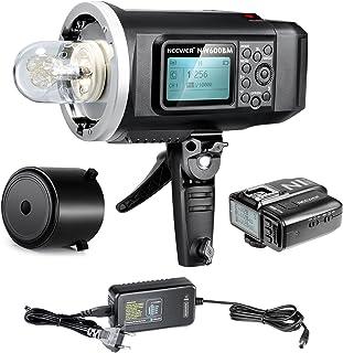 Neewer® 600W GN87 HSS Al Aire Libre Luz De Flash Estroboscópico para Sony Cámara con Mi Zapata, 2.4G disparador sin hi...