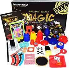 Jufang Magic Set Magic Kit for Kids Magic Games for Children Including 25 Tricks Easy to Play Magic Best Gift for Boys Girls and Adult DVD Instruction
