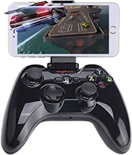 Megadream Bluetooth Gamepad PXN Speedy Wireless IOS Gaming Controller Joystick Joypad with Phone Clamp Holder for iPhone 6S Pluse 6 5S 5 4S, iPad Air 2 Mini 4 3 Pro, Apple TV