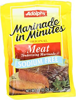 Adolph Original Meat Tenderizing Marinade Sodium Free, 1-Ounce (Pack of 8)