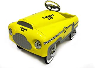 AutoMint Stamp Steel Pedal Car - Taxi Cab