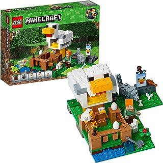 LEGO Minecraft - Gallinero, Juguete Educativo de Construcción