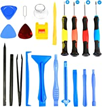 Flylinktech 21 in 1 Repair Tool Kit Tool Set Screwdriver Kit for Fix Phone/iPhone,Computer/PC,Tablet/Pad,Watch,PS4 - Replace Screen Battery Camera Small Electronics Open Pry Tool Kits Sets DIY