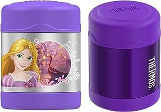 Thermos Funtainer Stainless Steel Food Jar 10 oz 2 PK Bundle - Disney Princess (2 Items)