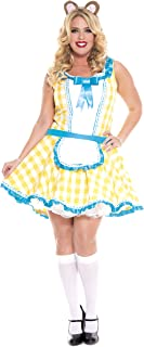 plus size goldilocks costume