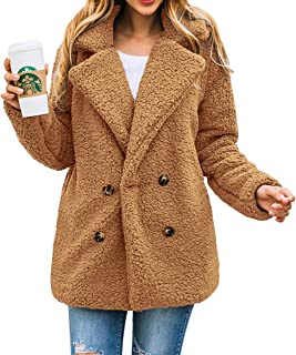 Plus Size Faux Leather Coat